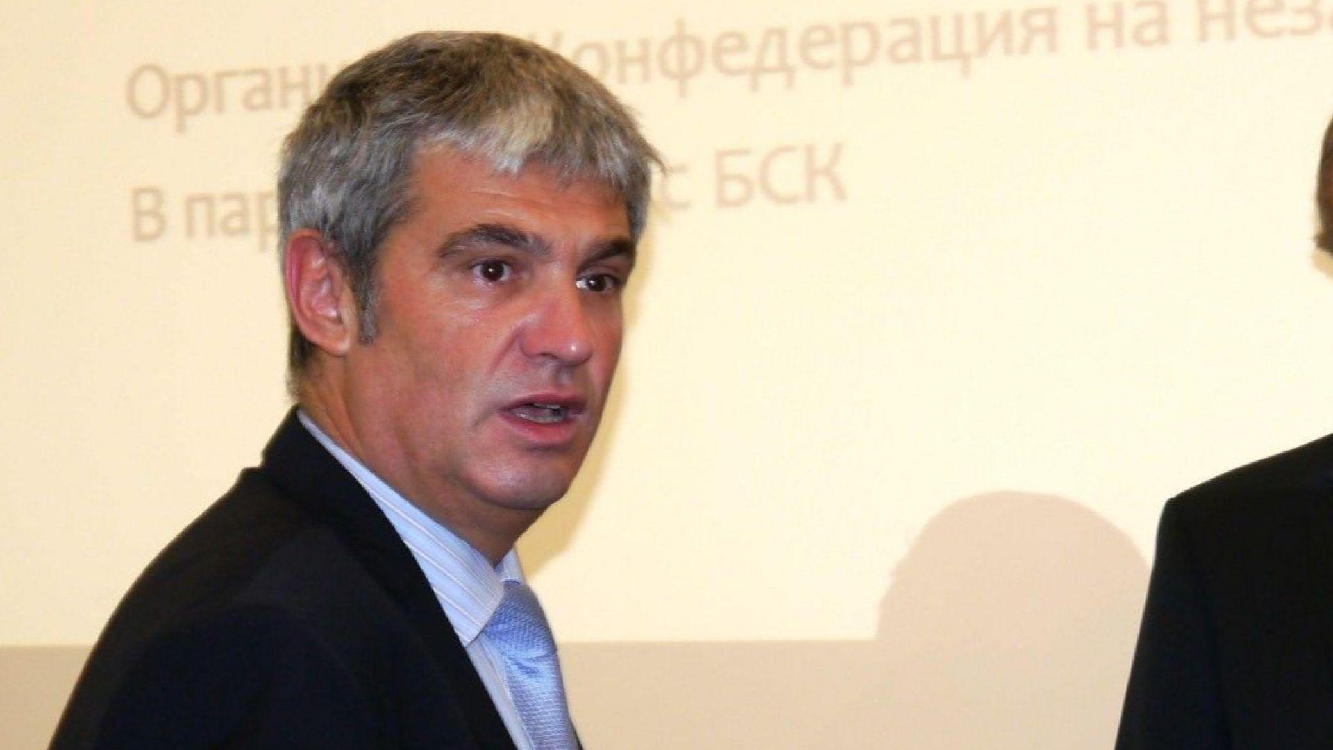 """Пламен Димитров: Планът """"Макрон"""" ще удари българския бизнес, но не и шофьорите"""