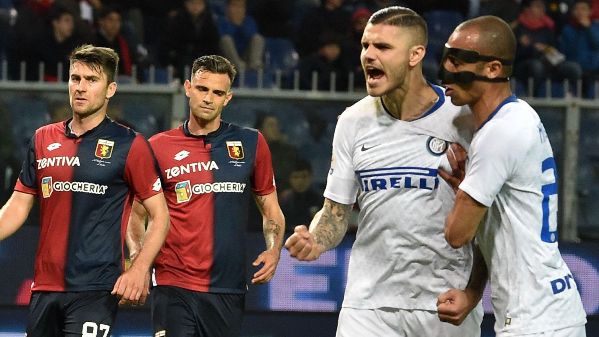 Икарди се завърна с гол за Интер, Лацио се срина (резултати)