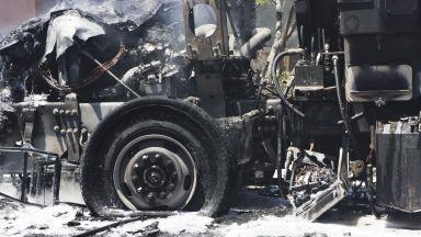 """Превозвачи ще изгорят ТИР на протест срещу пакета """"Мобилност"""""""