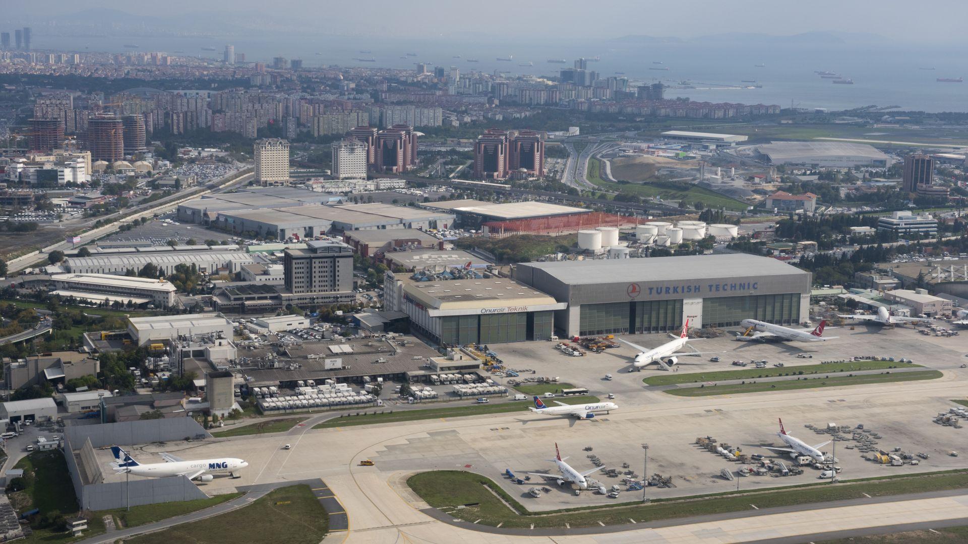 """Започва голямото преместване на истанбулското летище """"Ататюрк"""""""