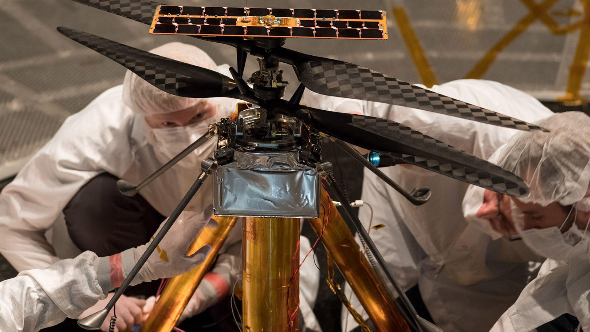 НАСА показа Марсокоптера, полетът за историята е съпоставим с този на братя Райт