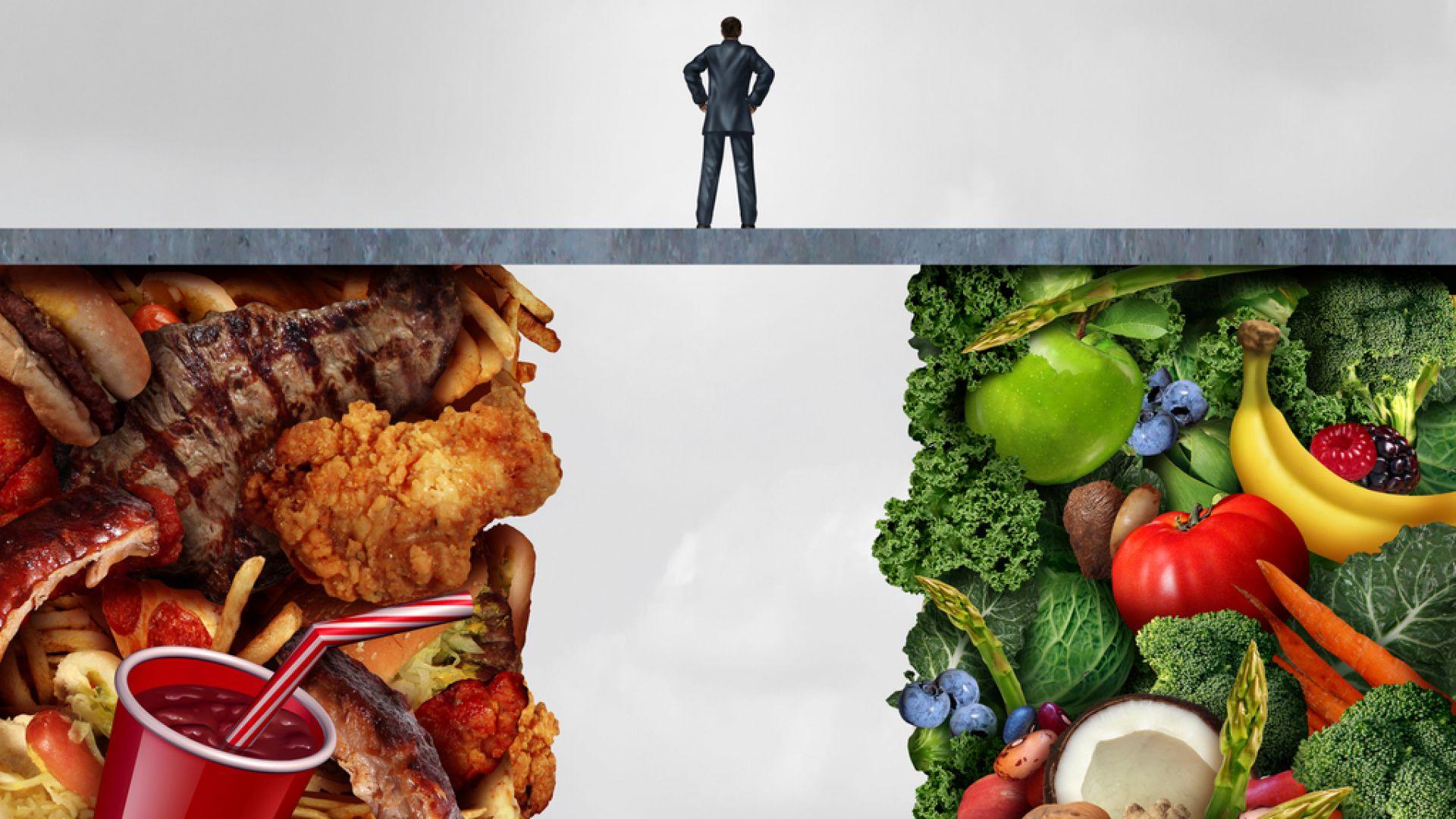 Всеки пети умира заради нездравословно хранене
