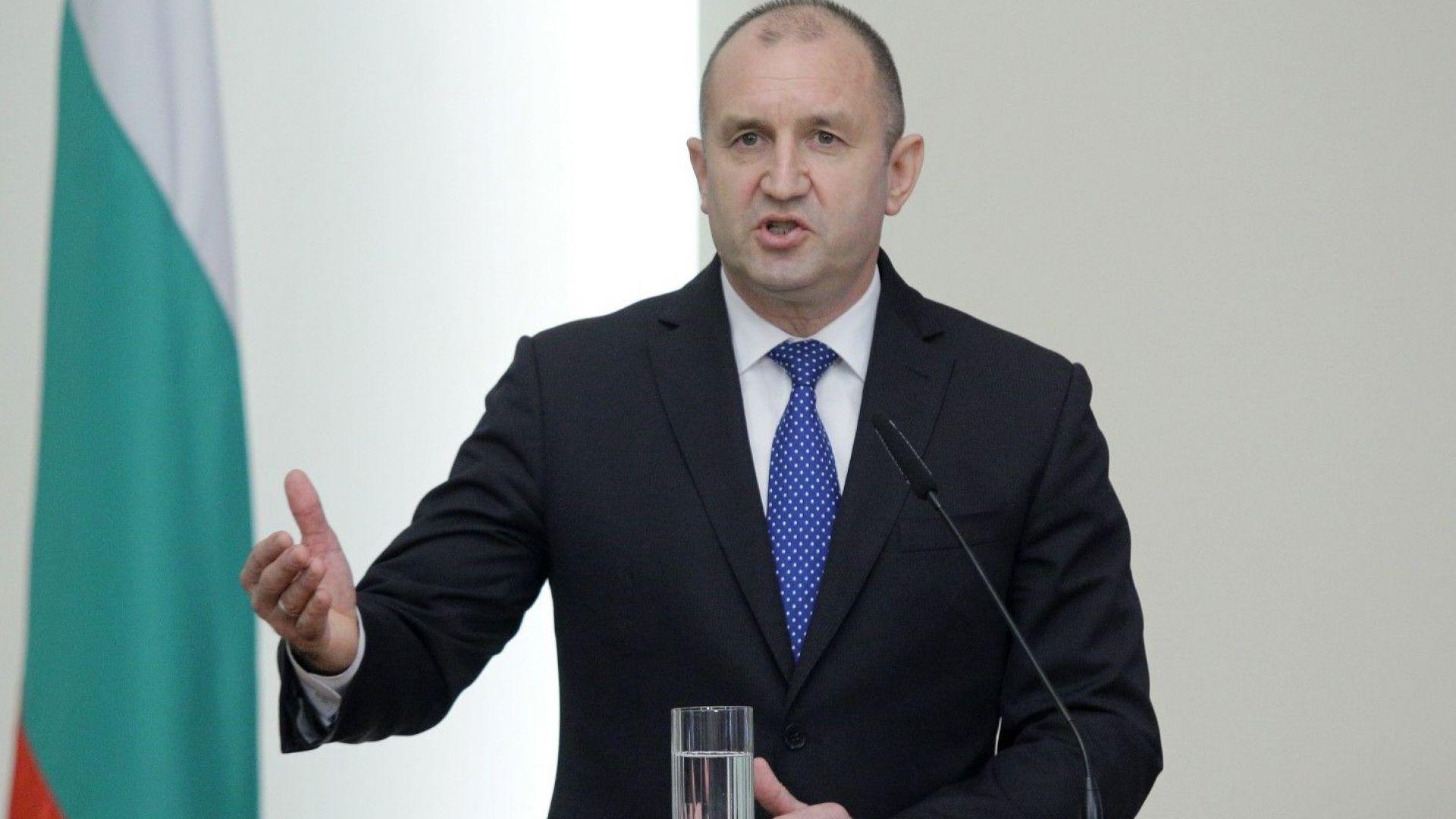 Президентът свиква Консултативния съвет по национална сигурност