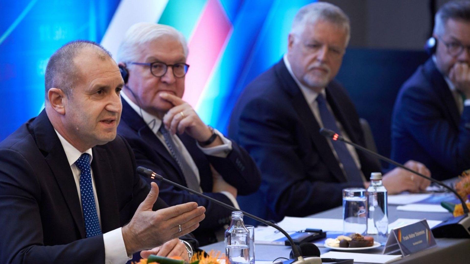 Радев към германския бизнес: Не пропускайте своя шанс да инвестирате в България