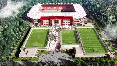 Арх. Ивайло Мишев: Може да се изгради стадион на ЦСКА за 30 хил. души
