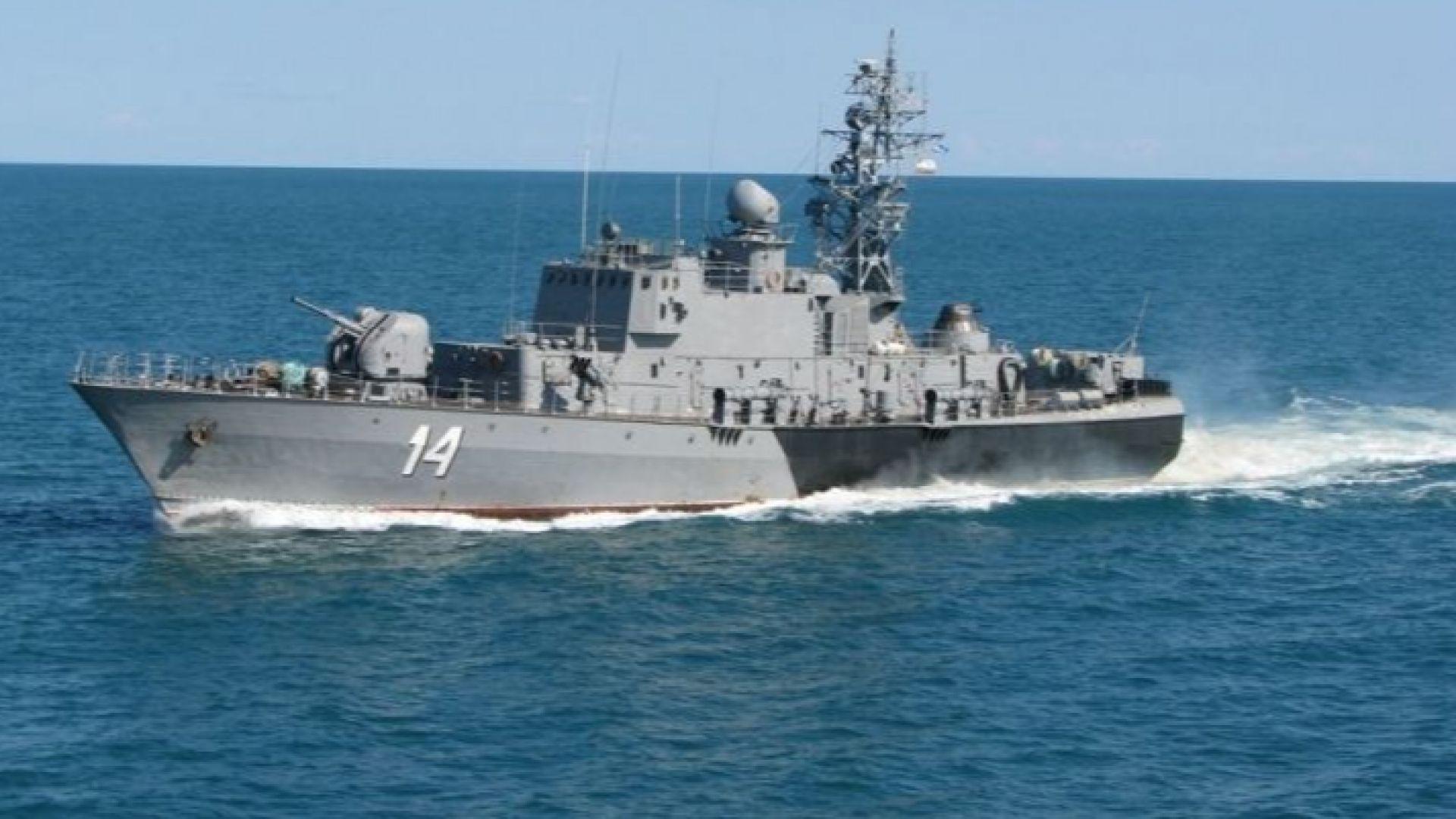 """Корветата """"Бодри"""" отплава за най-голямото учение на НАТО в Черно море"""