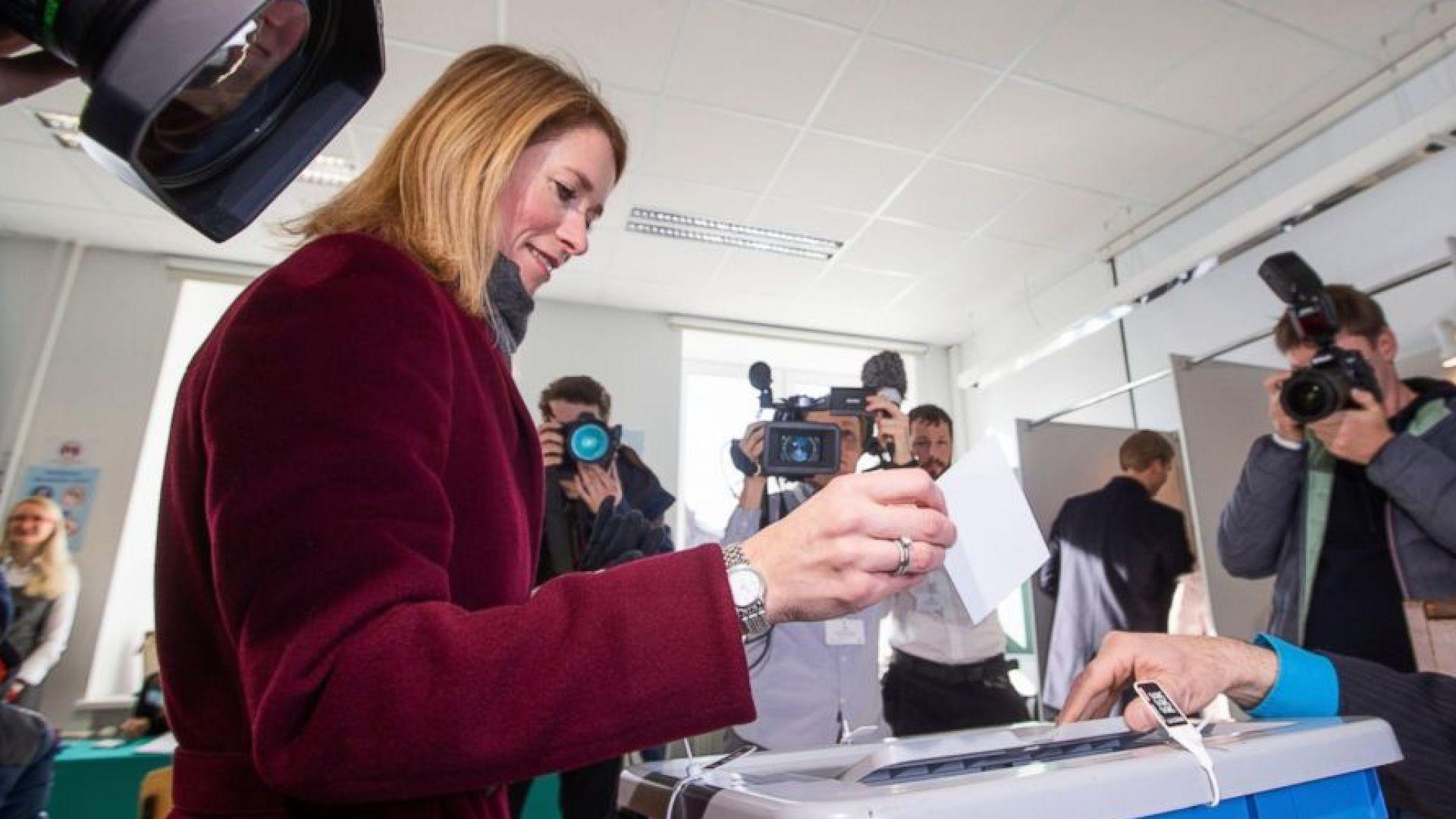 Естония върви към съставянето на тройна правителствена коалиция