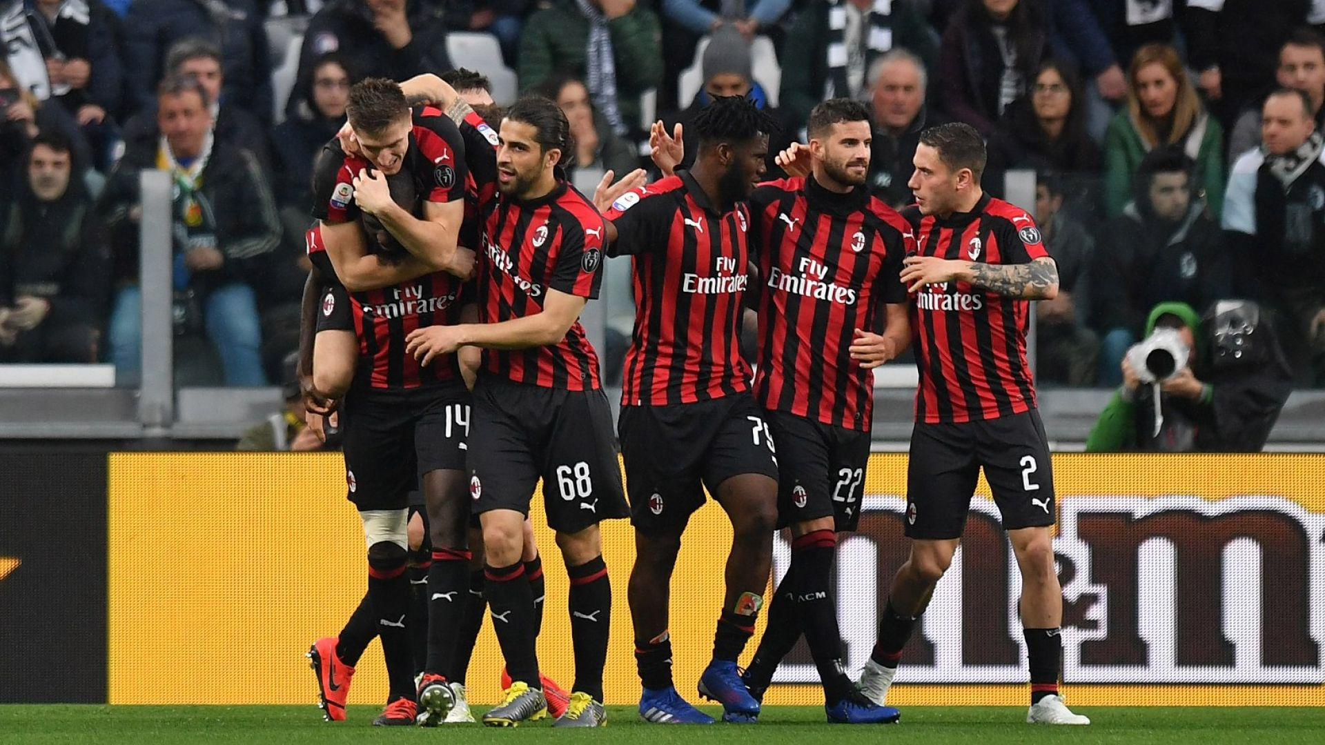 УЕФА изхвърли Милан от Европа