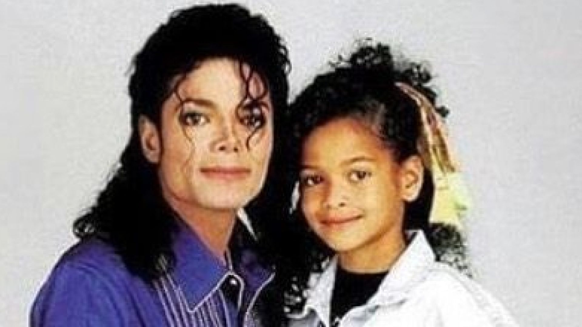 Michael Jackson and Brandy