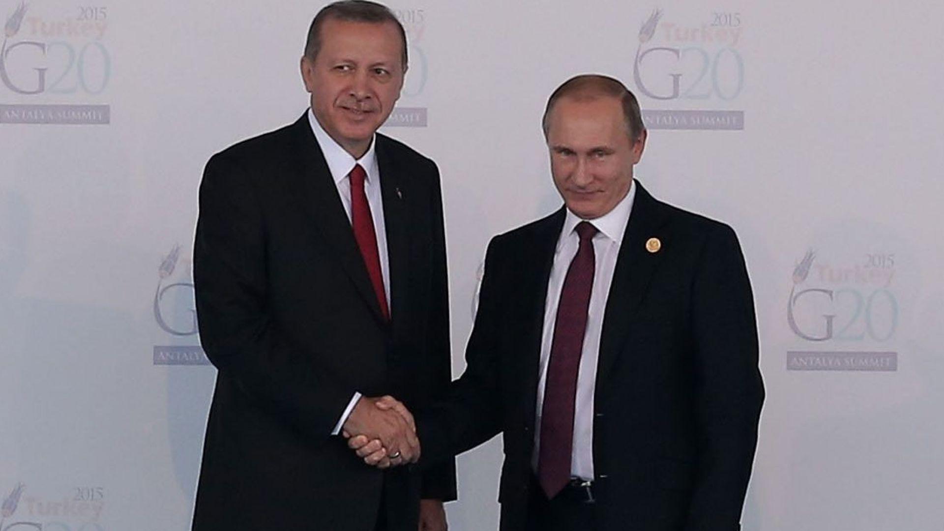 Дружба, ракети, Сирия: Путин и Ердоган отново рамо до рамо