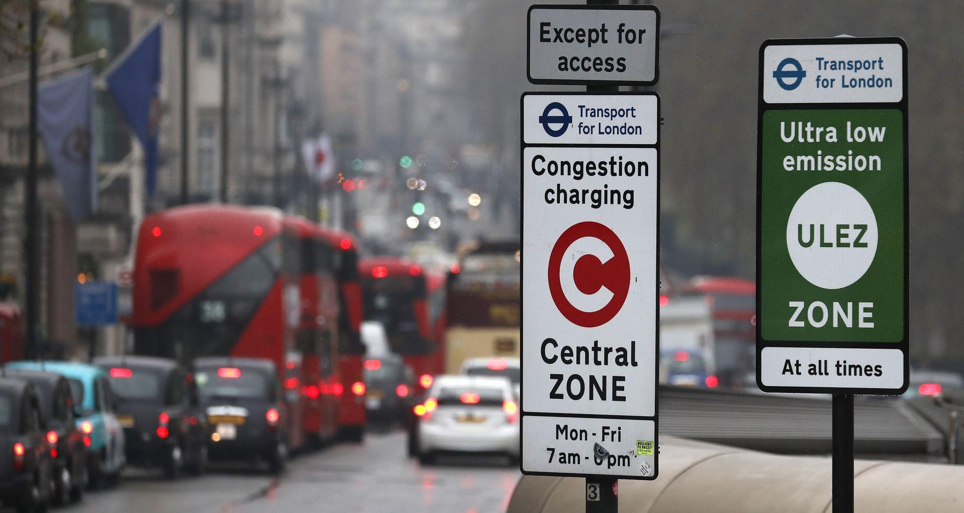 """Лондон въведе """"зона с много ниско съдържание на вредни емисии"""""""