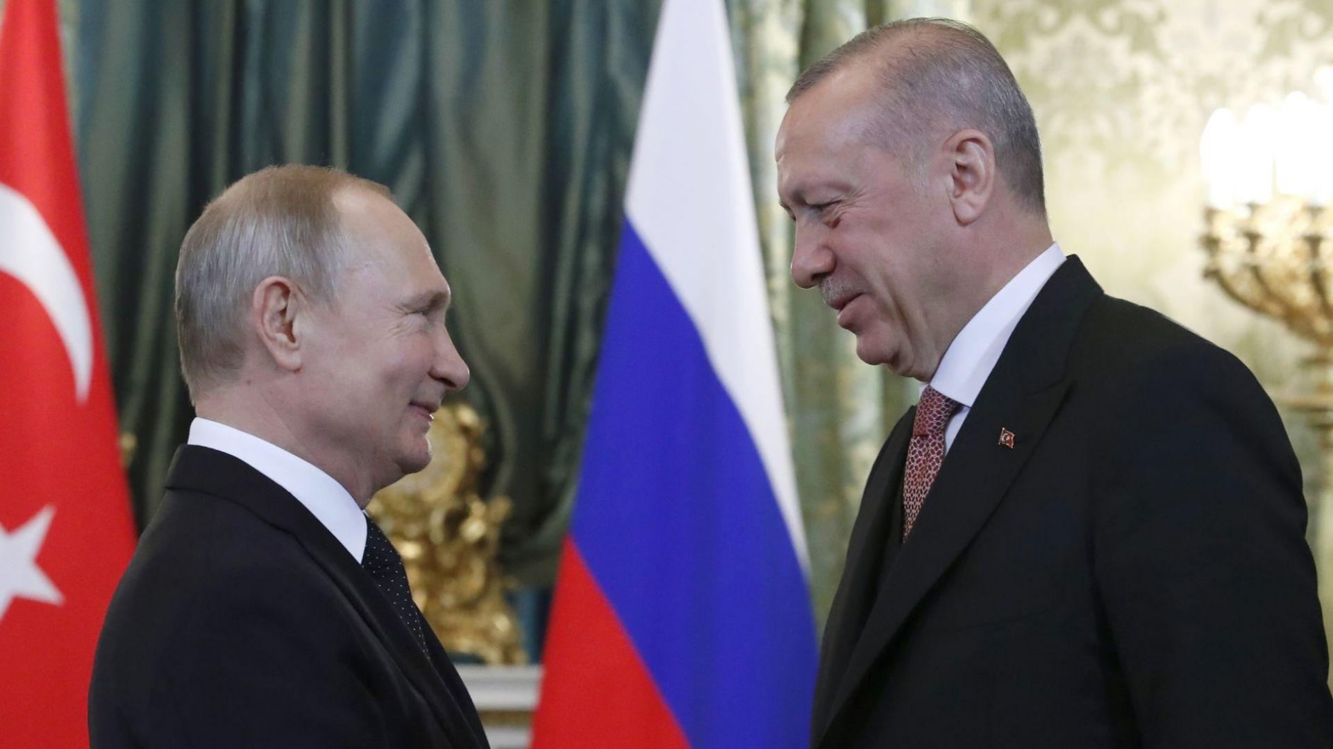 Какво стана ясно след срещата между Путин и Ердоган