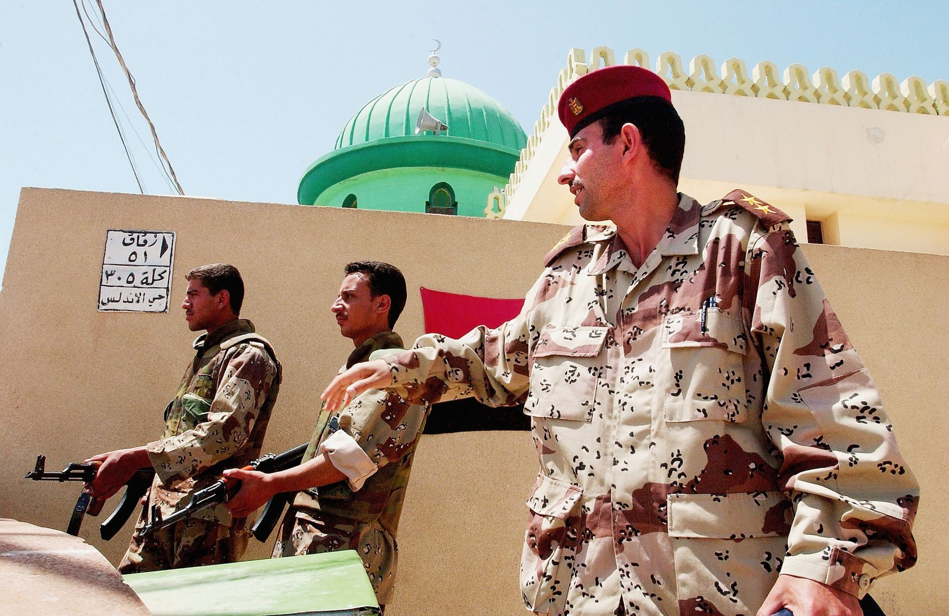 Представители на елитното иранско военно подразделение Корпуса на гвардейците на Ислямската революция