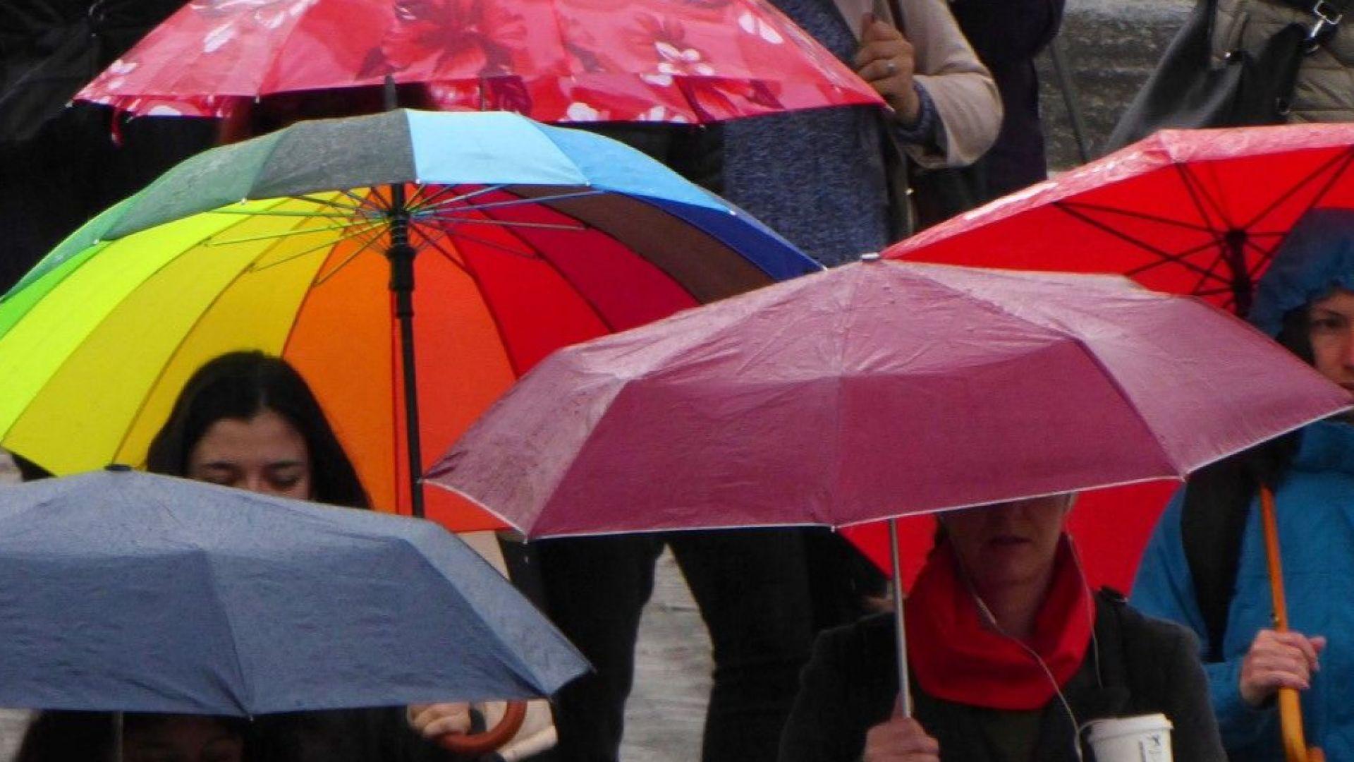 Задават се мощни гръмотевични бури, дъждове и градушки