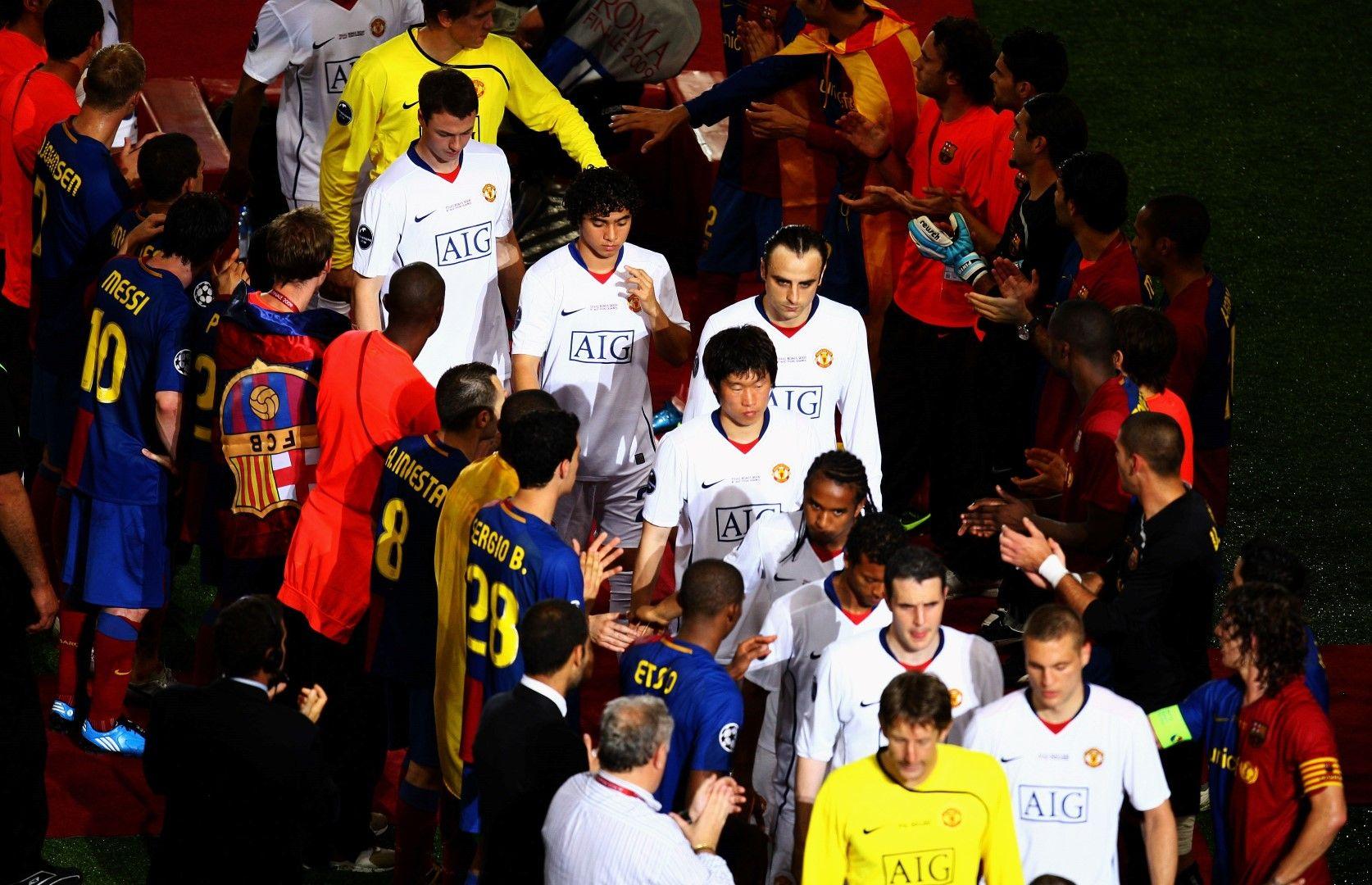 2009 г., Финал в Шампионската лига. Бербатов е разочарован след финала в Рим, където бе резерва