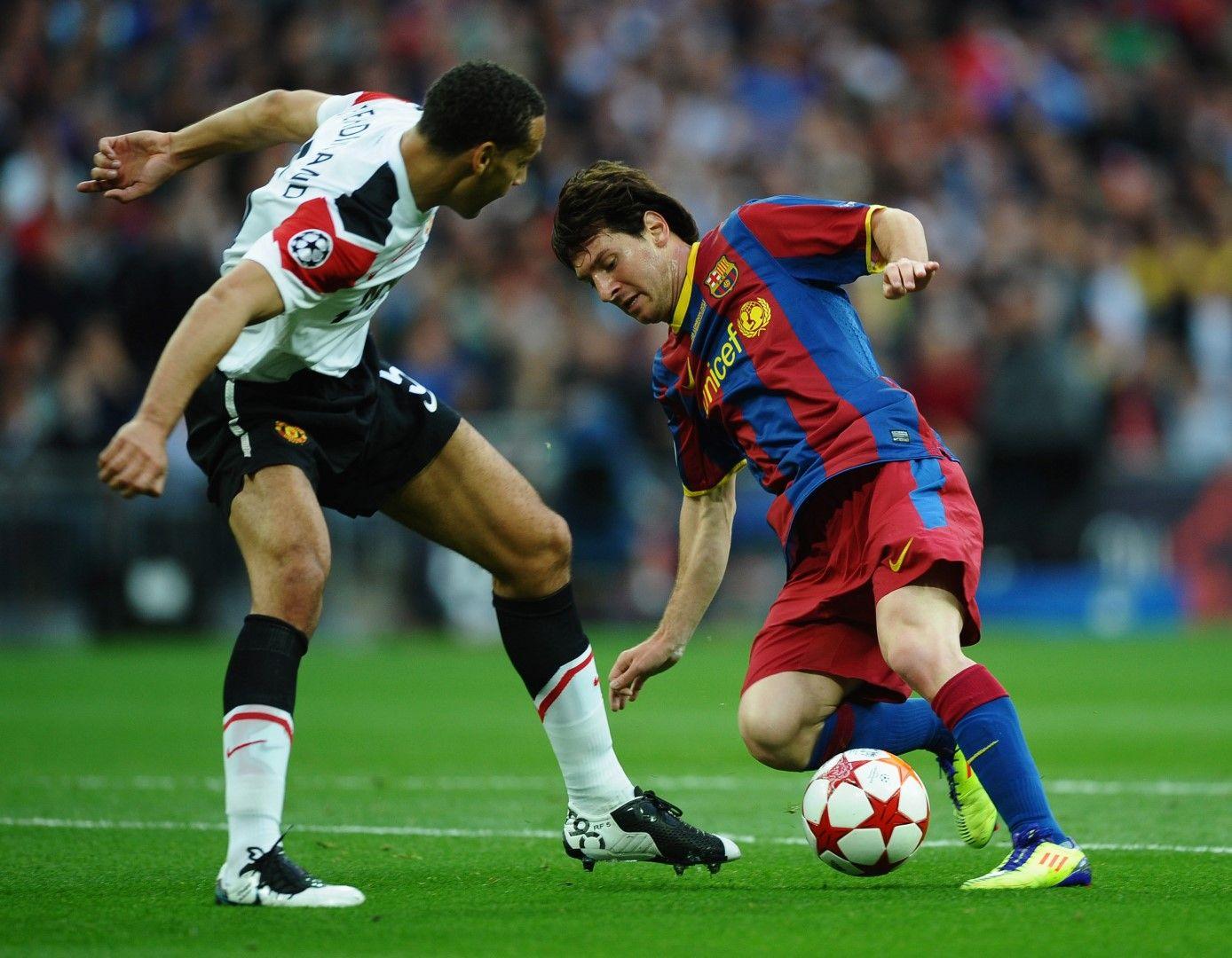 2011 г., Финал в Шампионската лига. Меси с поредна магия срещу Рио Фърдинанд