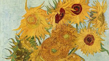 Ван Гог: Слънчогледите са мои