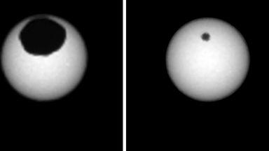 """""""Кюриосити"""" засне слънчево затъмнение на Марс"""
