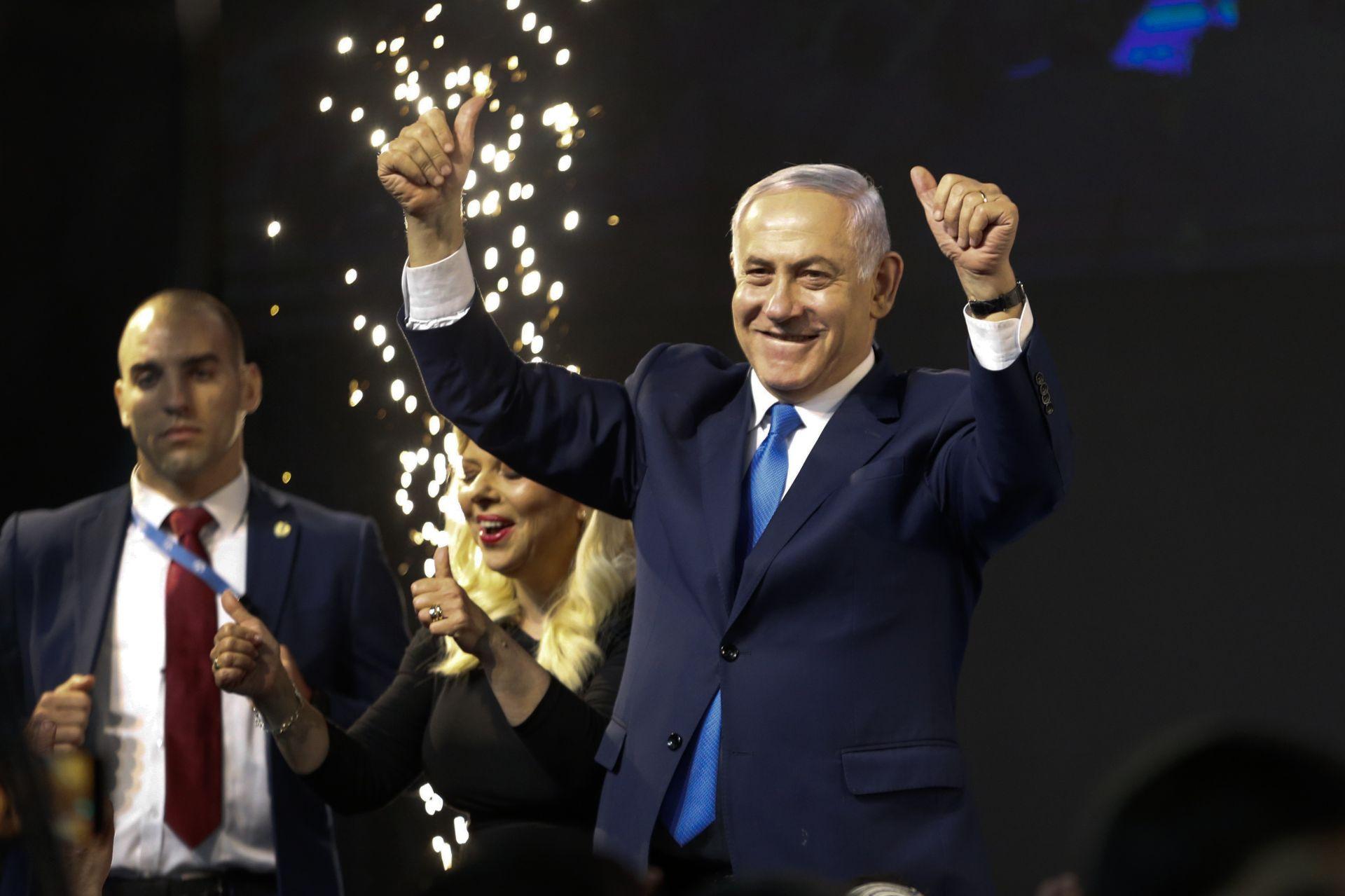 """При 96 процента преброени гласове, дясната партия """"Ликуд"""" на Нетаняху печели 37 места в Кнесета"""