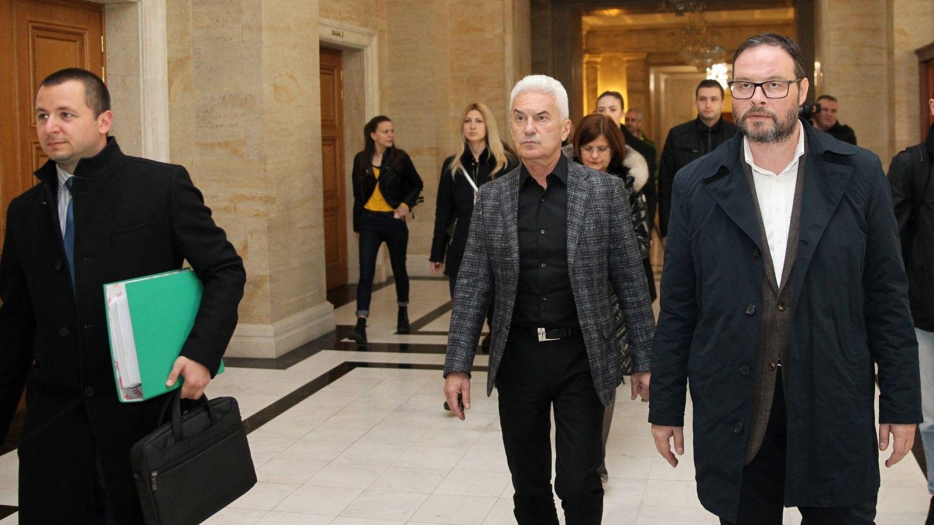 """Волен Сидеров: """"Обединени патриоти"""" се явяваме поотделно на евровота заради НФСБ"""