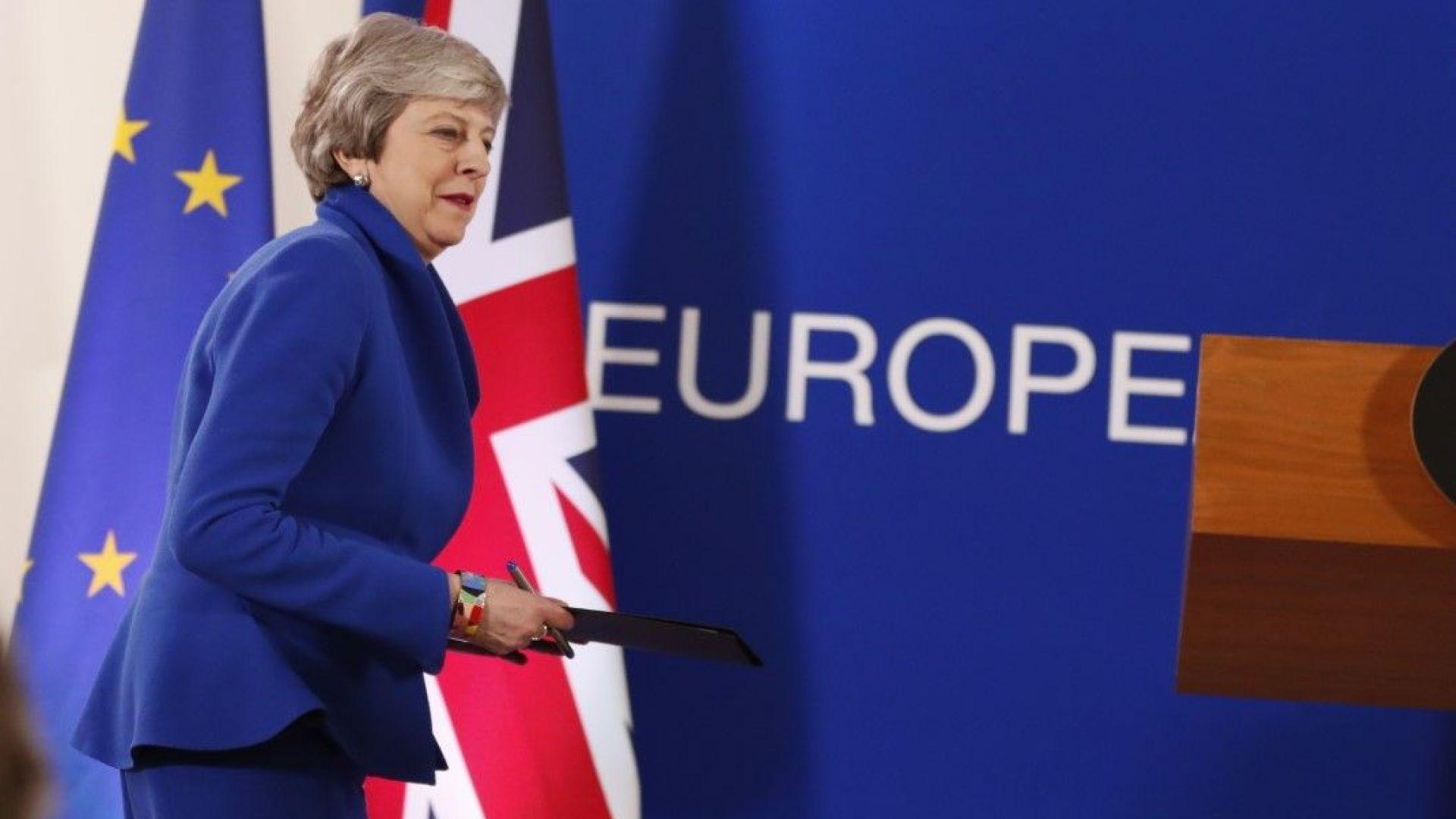 Тереза Мей подава ръка на опозицията за Брекзит