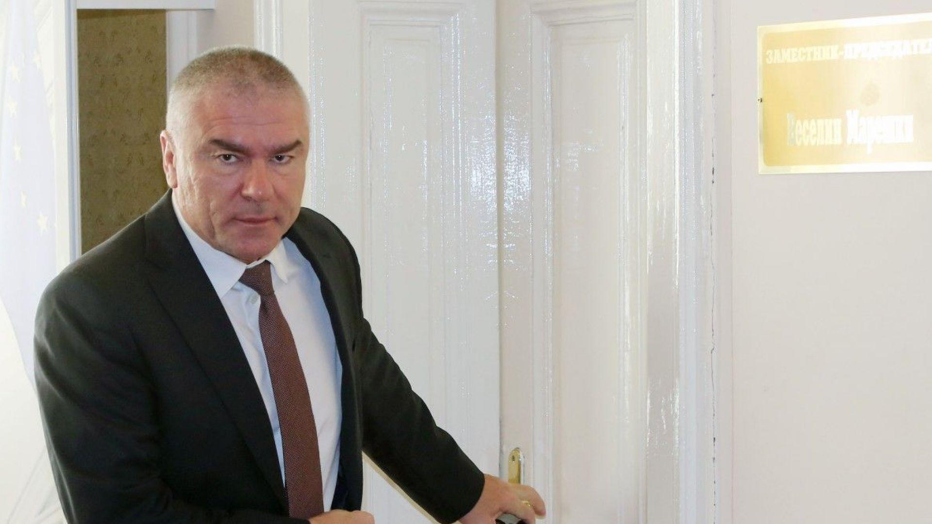Апелативният съд във Варна осъди на 4 г. затвор Веселин Марешки за изнудване
