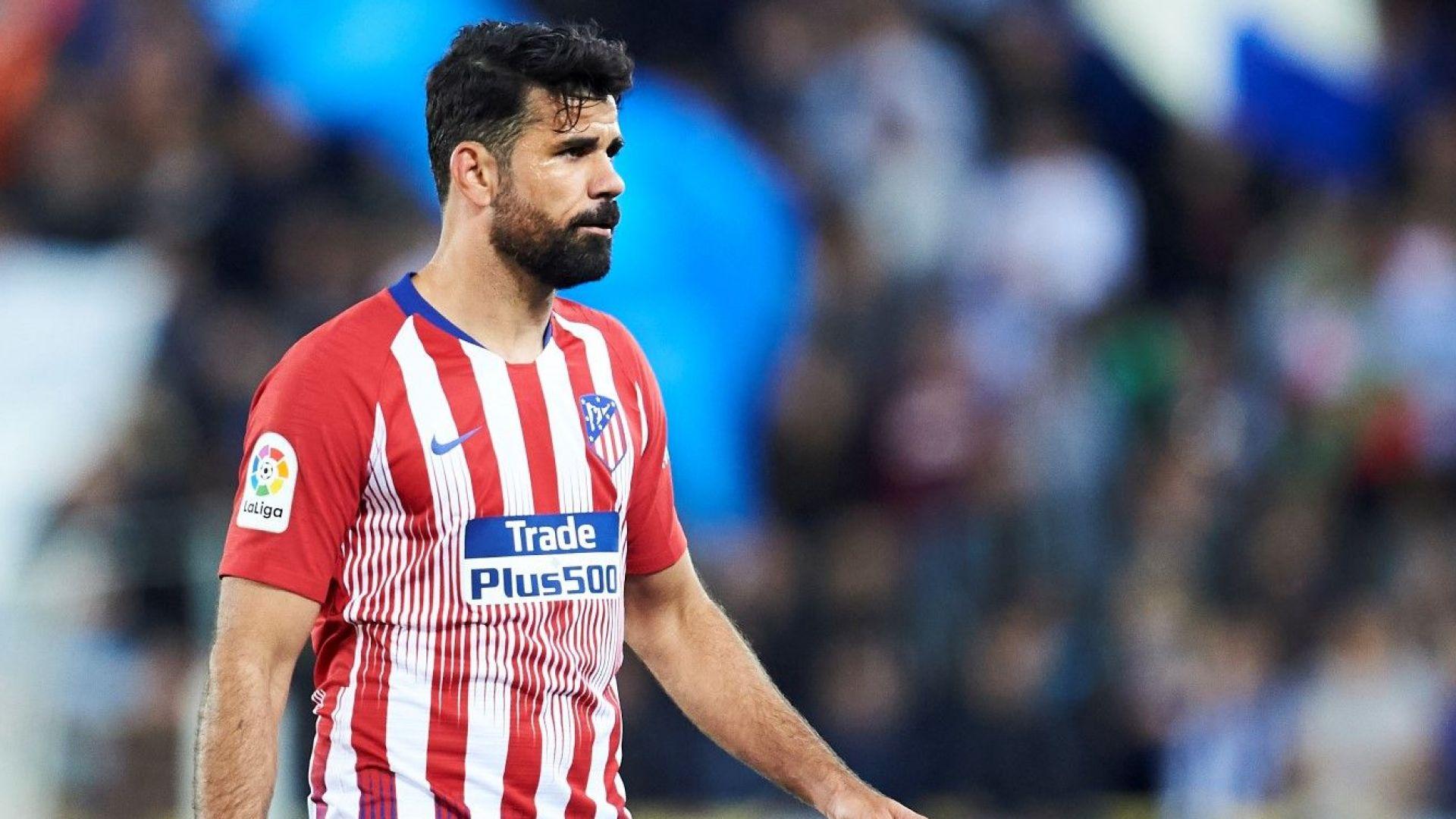 """Диего Коста напусна Атлетико, запътил се е към """"Емирейтс"""""""