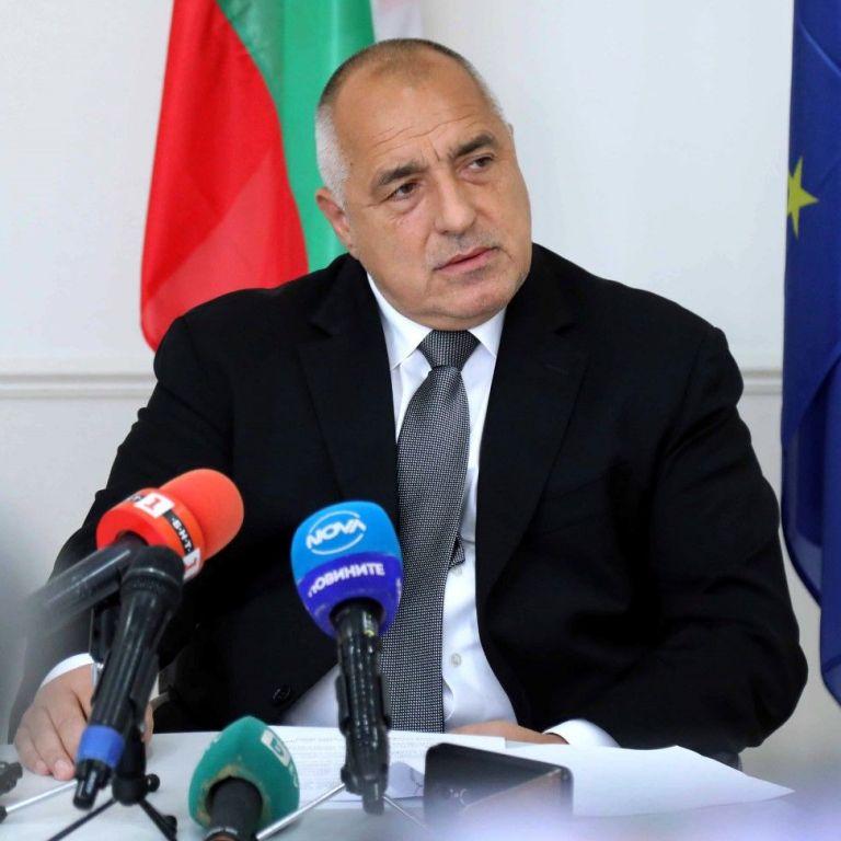Бойко Борисов, премиер, председател на ГЕРБ