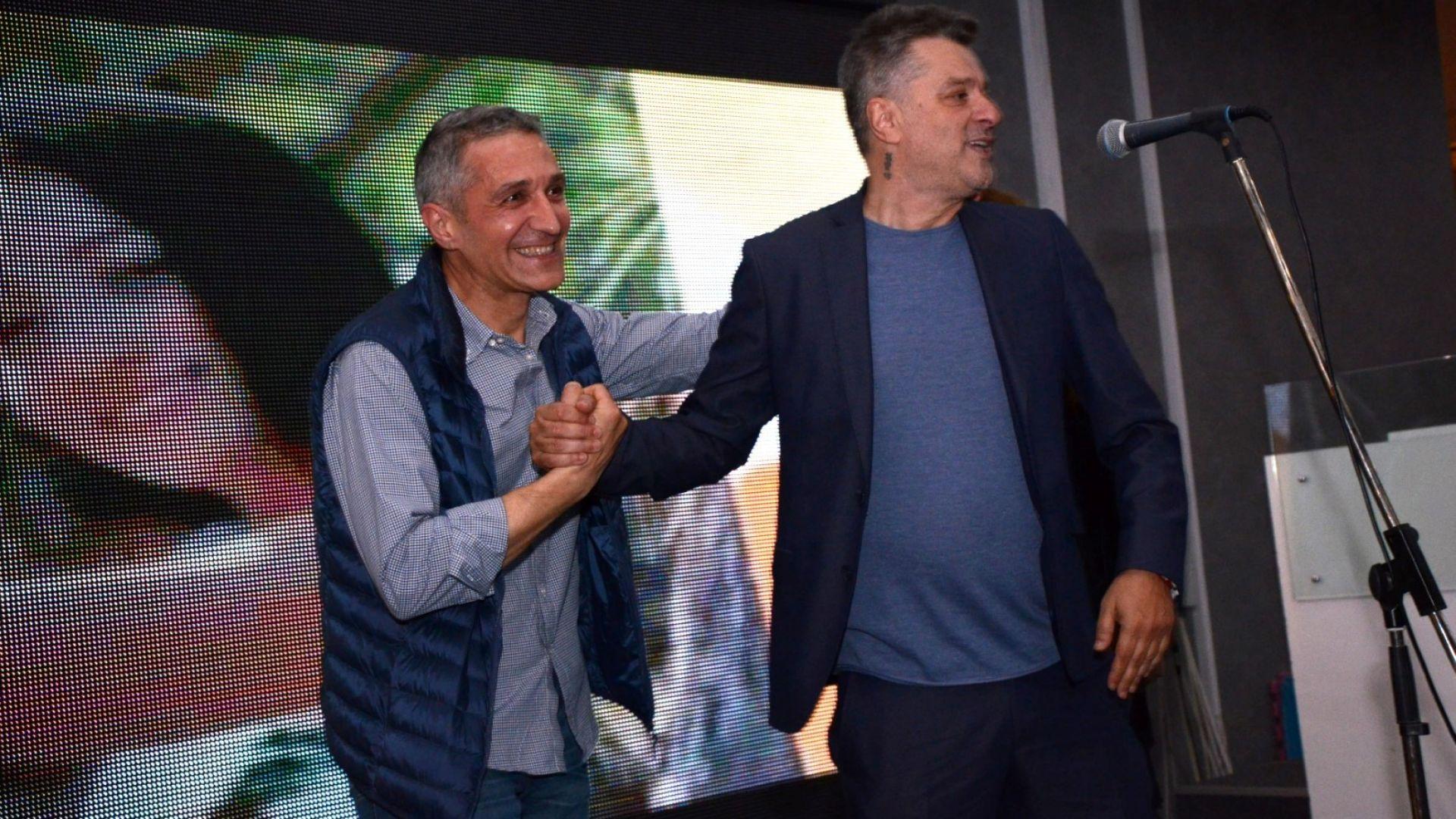 Мариан Вълев и операторът Антон Бакарски