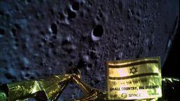 """Какво видя израелската сонда """"Берешит"""" преди да се разбие на Луната"""