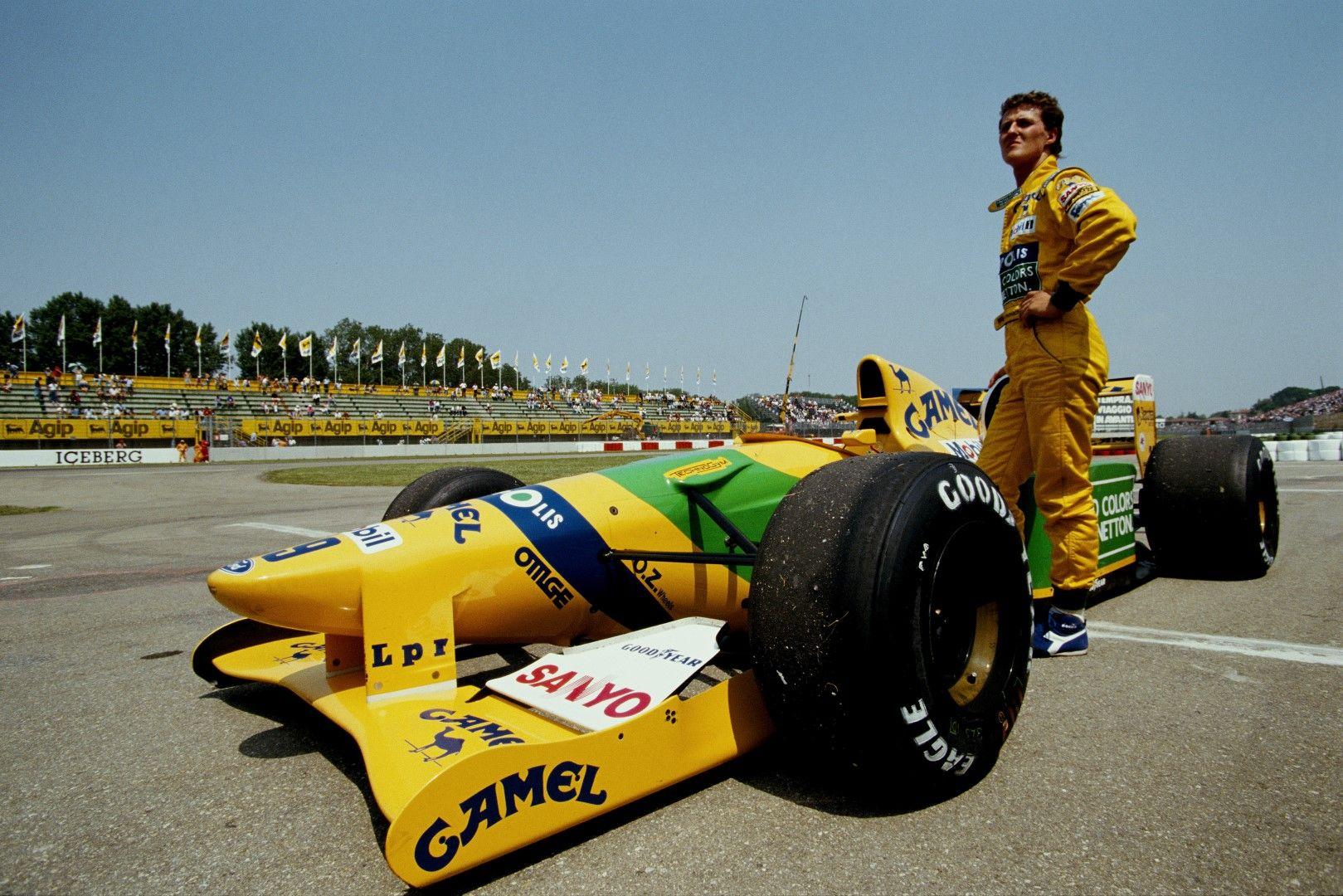 Младият Шумахер се готви за старт