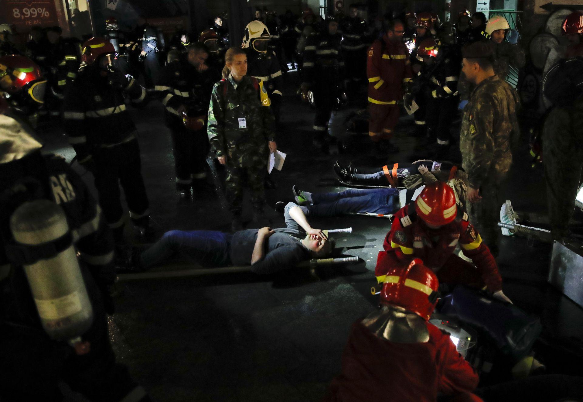 Сценария предвижда евакуацията на 200 ранени при две експлозии