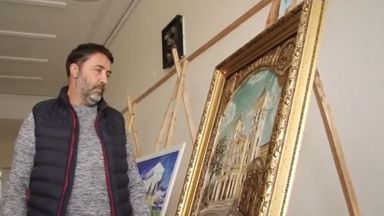 В Раковски избраха картина за папата