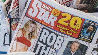 Още един британски таблоид се отказа от снимките на жени без горнище