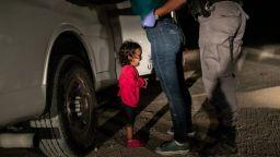 Фотографията на годината - разплакано дете