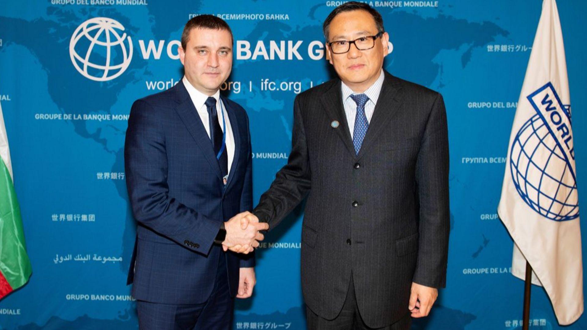 Министърът на финансите Владислав Горанов в качеството му на управител