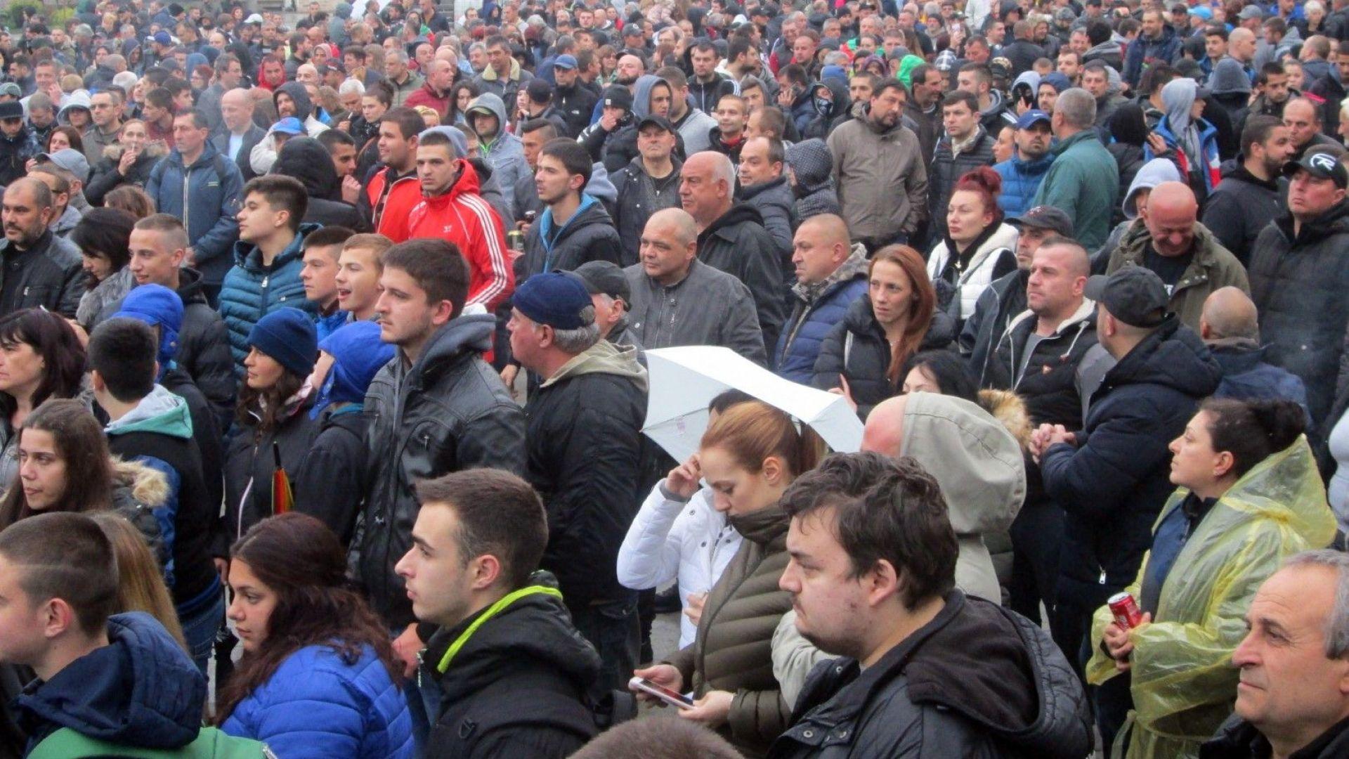 В Габрово се проведе четвъртият протест срещу агресията