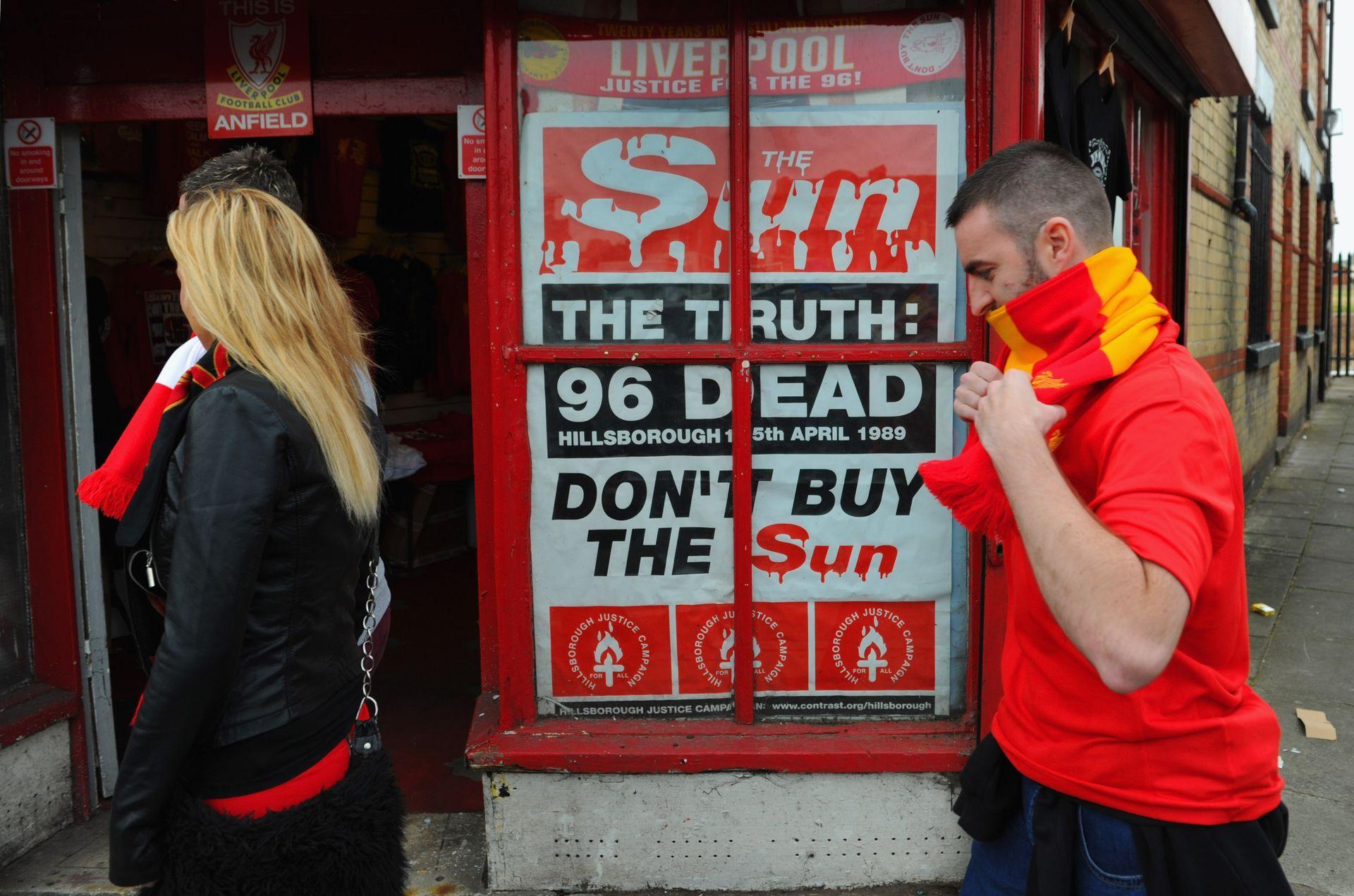 """""""Не купувайте """"Сън"""" - кампания, която в град Ливърпул гледа отвсякъде"""