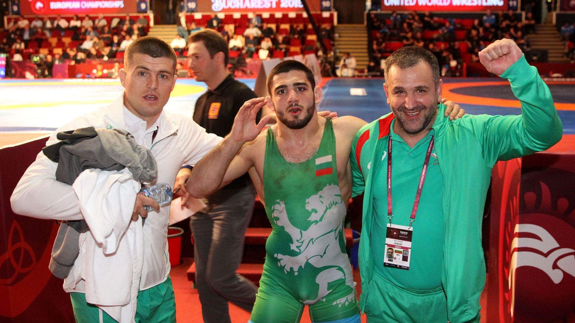 Сребро и бронз за борците ни, България с шест медала на Европейското
