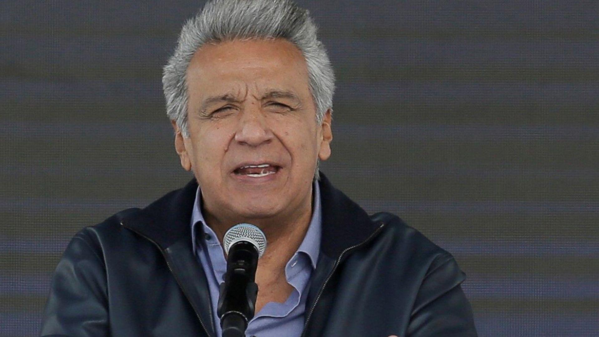 Президентът на Еквадор: Асандж използваше посолството за шпионски център (видео)