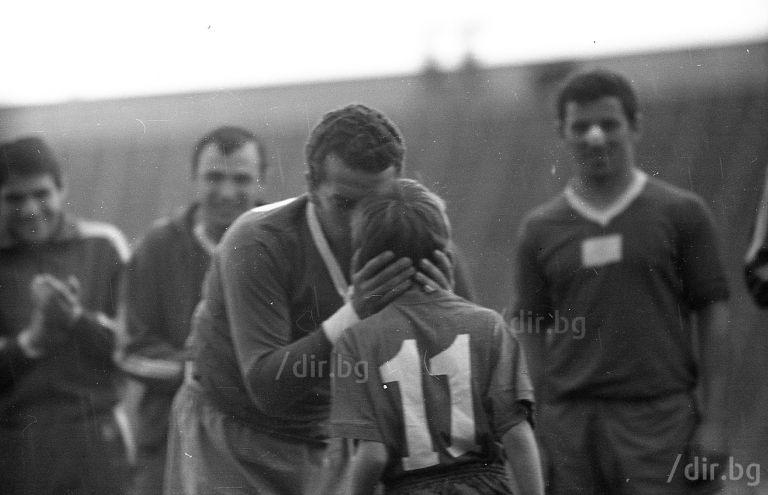 """Последният мач в екипа на Левски - на """"Герена"""", през пролетта на  1971 г."""