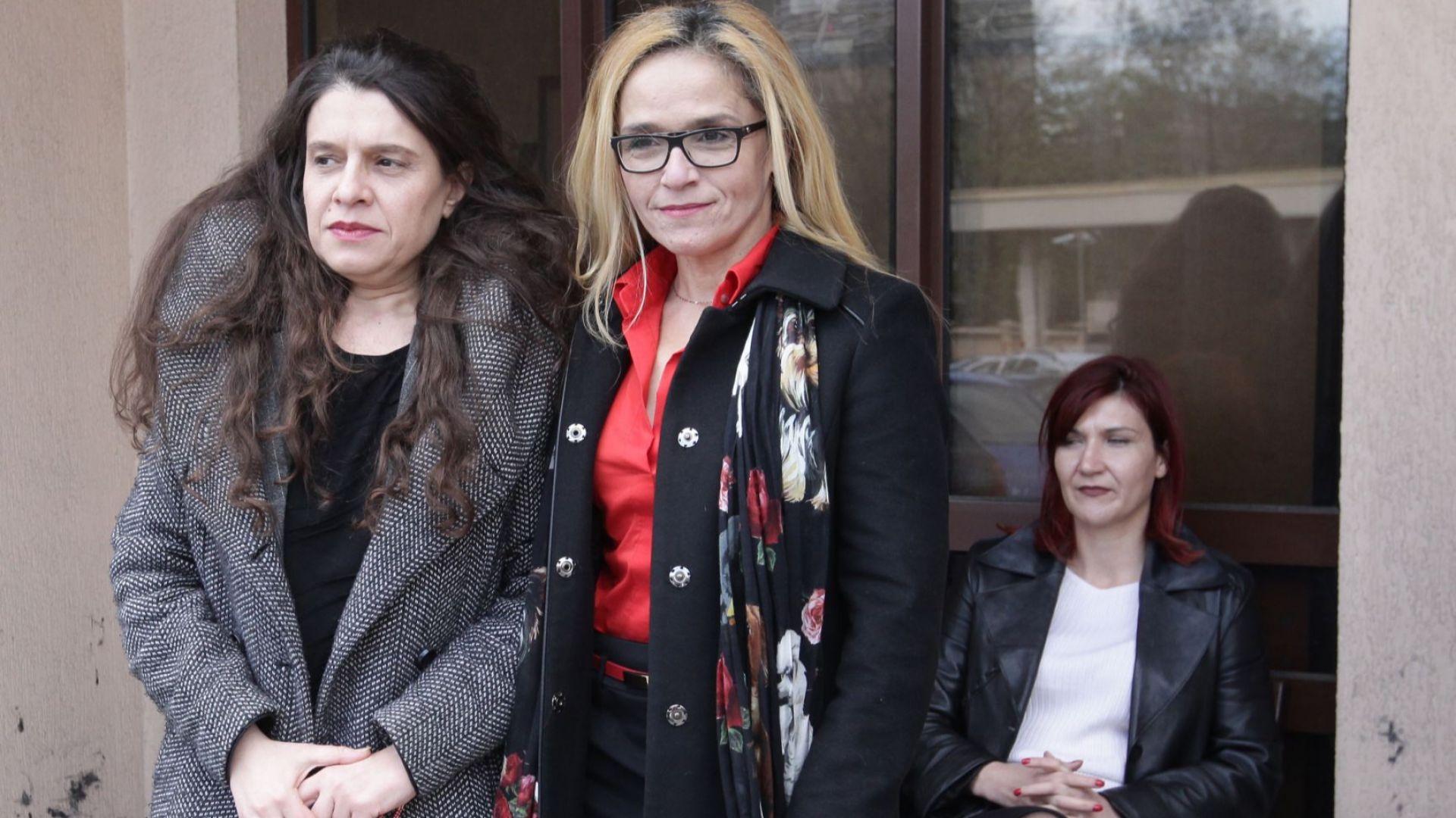 Снимка: Писмо на Иванчева и Петрова от ареста: Змията хапе най-силно, когато знае, че умира