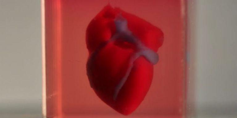 Принтираното сърце е можело да функционира