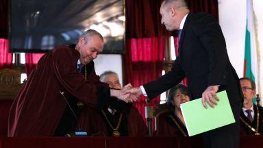 Борис Велчев поиска Велико Търново да е историческата и духовна столица