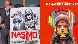 Електронният артист Иван Шопов и стрийт арт художникът Насимо в уникална колаборация