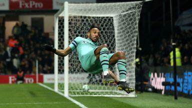 Кошмарна вратарска грешка върна Арсенал в топ 4