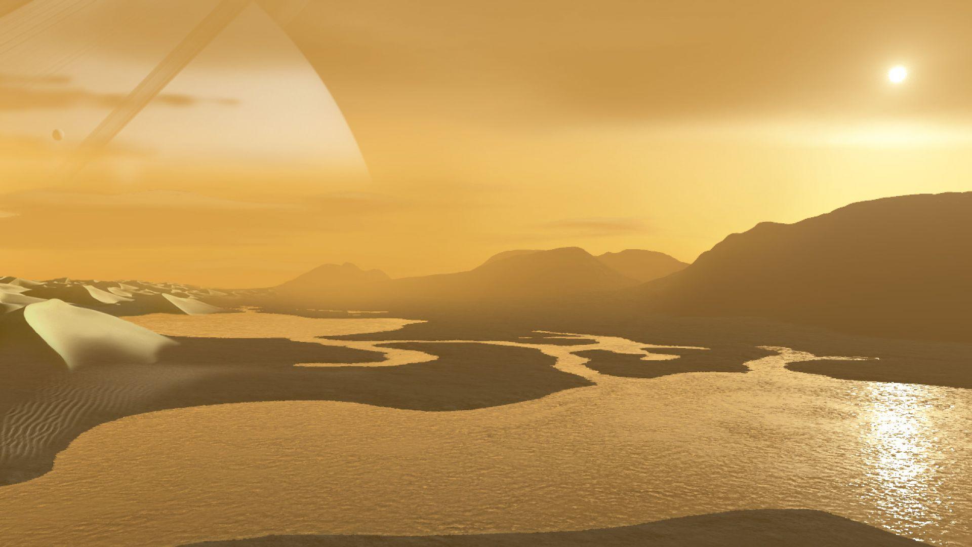 Нов поглед към титановите езера на Титан (снимки)