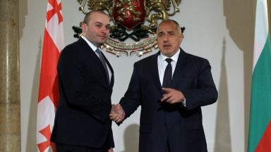 Борисов и грузинският му колега обсъдиха нов дигитален коридор и пътната инфраструктура