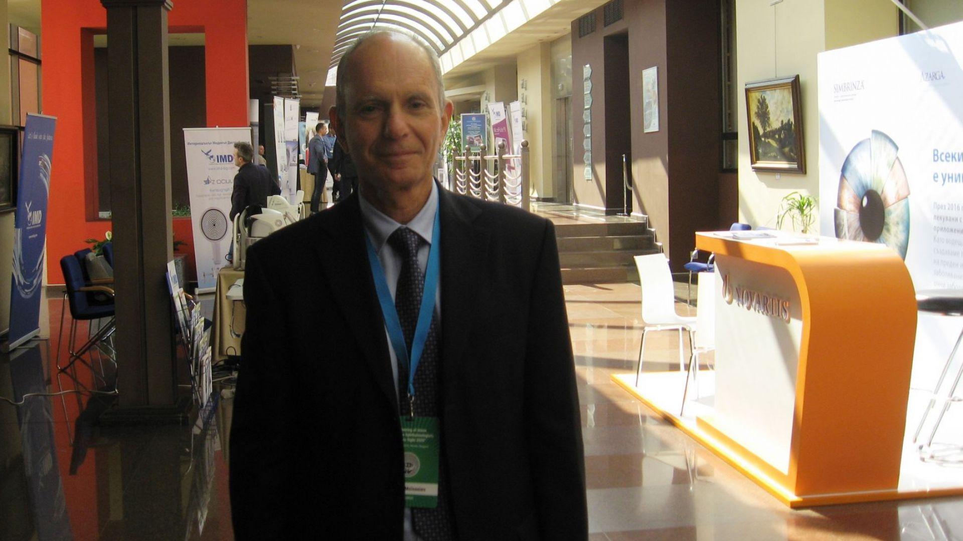 Всичко, което трябва да знаем за очите: Световноизвестният проф. Йозеф Мойсеев пред Dir.bg
