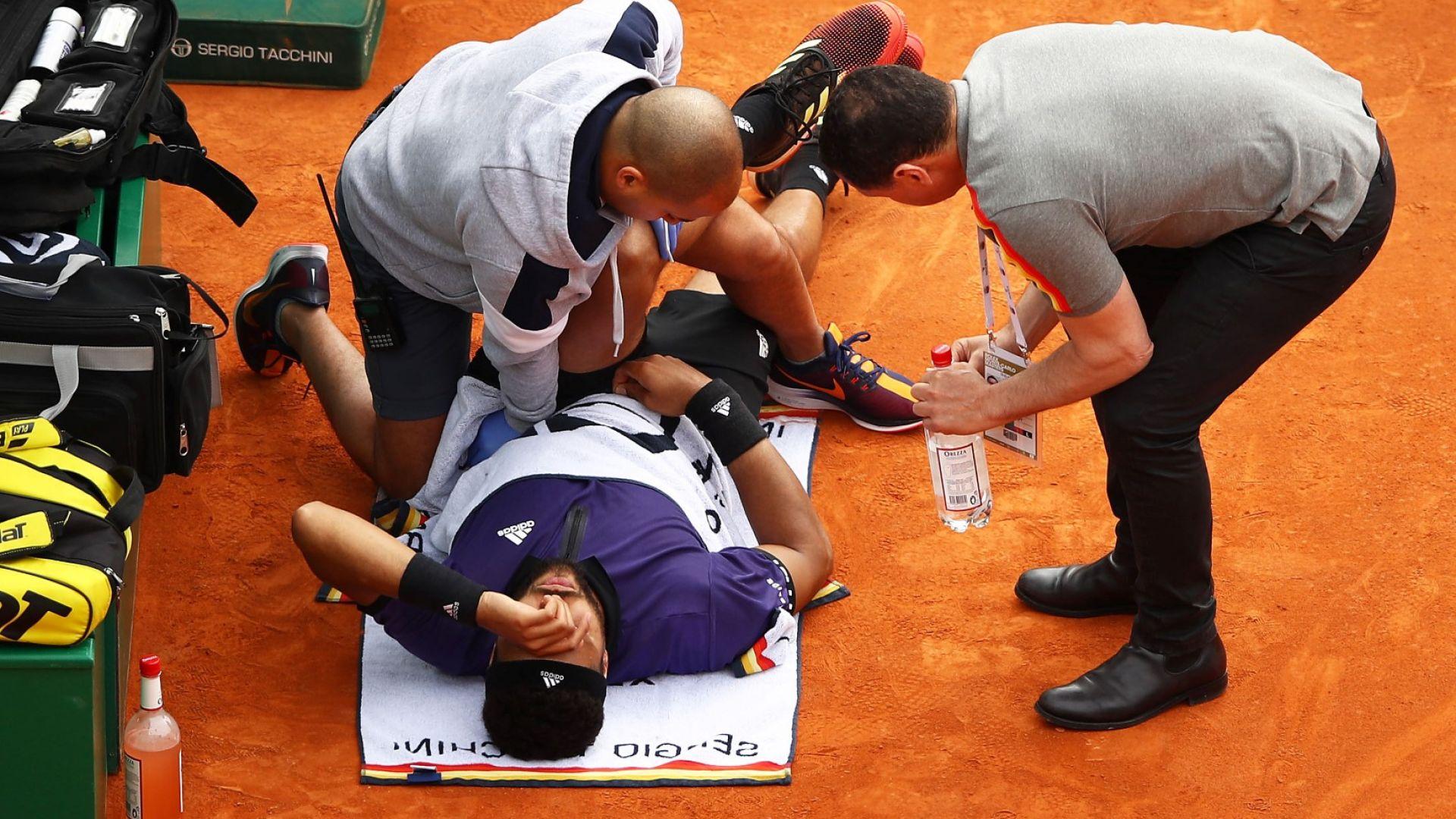 Нова травма спря Цонга в Монте Карло